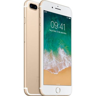 iPhone 7 Plus 32GB DOURADO Tela Retina HD 5,5'' 3D Touch Câmera Dupla de 12MP - Apple  - foto principal 1
