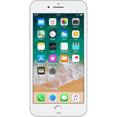iPhone 7 Plus 32GB PRATA Tela Retina HD 5,5'' 3D Touch Câmera Dupla de 12MP - Apple  - foto principal 4