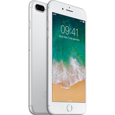 iPhone 7 Plus 32GB PRATA Tela Retina HD 5,5'' 3D Touch Câmera Dupla de 12MP - Apple  - foto principal 1