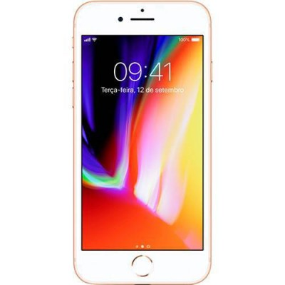 iPhone 8 DOURADO 64GB Tela 4.7'' IOS 11 4G Wi-Fi Câmera 12MP - Apple  - foto principal 5
