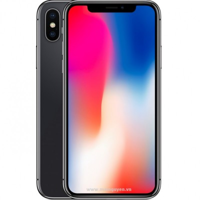 iPhone X 64GB CINZA ESPACIAL Tela 5.8' iOS 11 4G Câm 12MP - Proc A11 Bionic - Apple  - foto principal 2