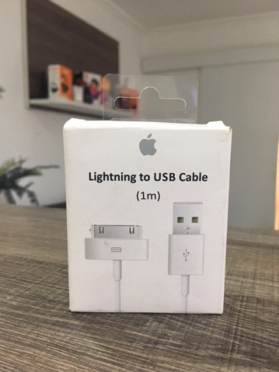 Cabo Lightning usb original Apple para 3/3g/4/4s  - foto principal 3