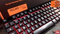 Teclado Gamer Oex Force-X com Led Semi Mecânico TC201