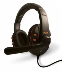 Headset Gamer Oex Action com Microfone HS-200