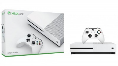 Xbox One Slim 500GB Branco  - foto principal 4