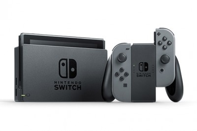 Nintendo Switch Cinza 32 GB  - foto principal 2