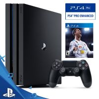 Console Sony Playstation 4 Pro 1TB Bundle Fifa 18  - foto 2