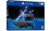 Ps4 Playstation 4 Slim 1TB com Jogo Star Wars Battlefront 2