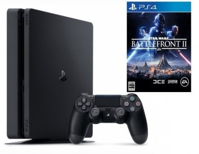 Ps4 Playstation 4 Slim 1TB com Jogo Star Wars Battlefront 2  - foto principal 3