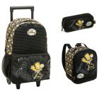Kit Mochila Grande com Roda The Simpsons (Bart SK8) 940F01 + Lancheira 940F11 + Estojo 940F14