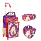 Kit Mochila Grande c/ Roda Ever After High 16Z 64361 + Lancheira 64365 + Estojo 64368