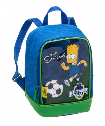 Kit Mochila Grande com Roda The Simpsons Neutrinos (Bart) 940E01 + Lancheira 940E09 + Estojo 940E14