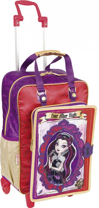 Mochila Grande c/ Roda Ever After High 16Z 64361