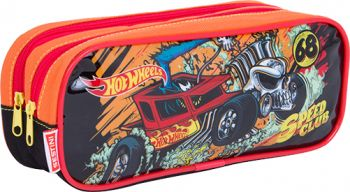Estojo 2 Diviões Hot Wheels 17M Plus 64702