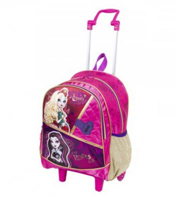 Mochila Grande com Roda Ever After High 16Y 64310