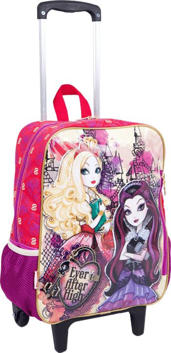 Mochila Grande com Roda Ever After High 16M 63961