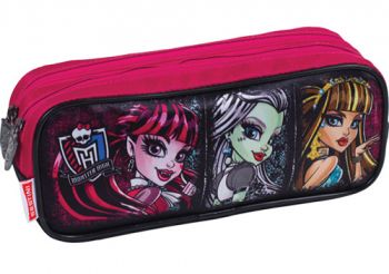 Estojo 2 Divisões Monster High 16Z Sestini 64197