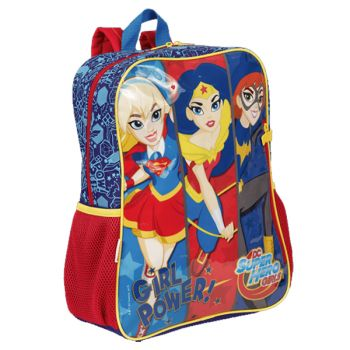 Mochila Grande Super Hero Girls 18M Sestini 65108