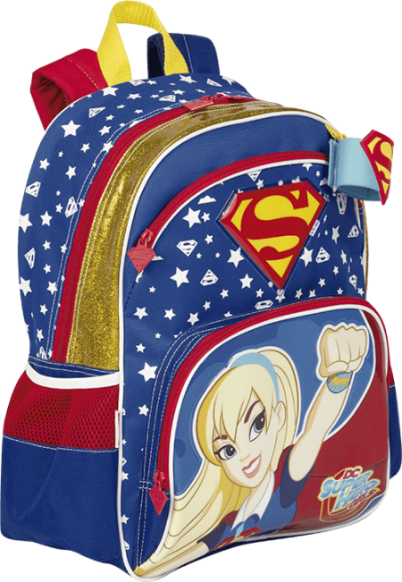 Mochila Grande Super Hero Girls Super Girl 18Y Sestini 65119