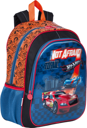 Mochila Grande Hot Wheels 18X Sestini 64927