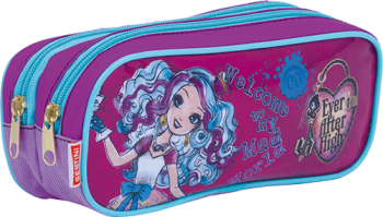 Estojo 2 Divisões Ever After High 17M Sestini 64692