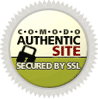 Selo Comodo Authentic Site Secured By SSL