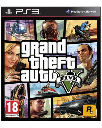 Grand Theft Auto V - GTA V - PS3