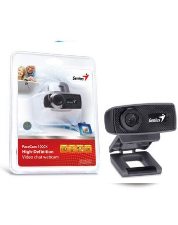Webcam FaceCam 1000X HD 720P c/ Microfone - Genius