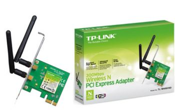 Adaptador Wireless N PCI Express 300Mbps TL-WN881ND - TP-LINK