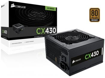 Fonte de Energia CX430W 80PLUS Bronze - Corsair