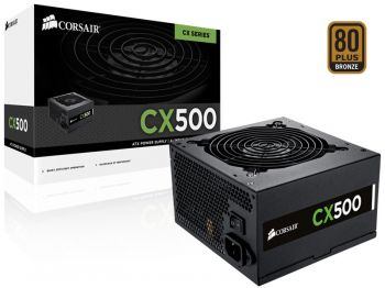 Fonte de Energia CX500 500W 80PLUS Bronze - Corsair