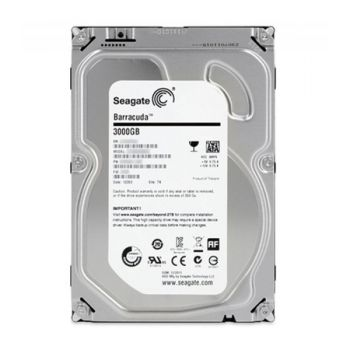HD Interno 3,5'' 3TB SATA 3 Barracuda - Seagate