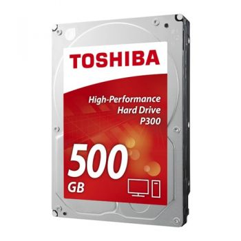 HD Interno 3,5' P300 500GB  SATA 3 - Toshiba