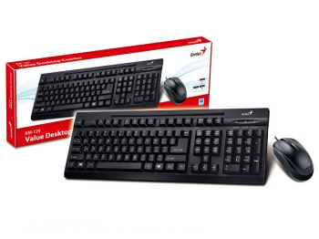 Kit Teclado e Mouse KM-125 USB - Genius