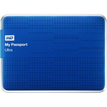HD Externo My Passport Ultra 1TB USB 3.0 Azul - WD