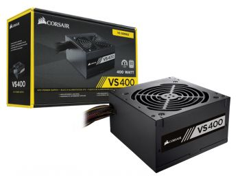 Fonte de Energia VS400 400W 80PLUS White - Corsair