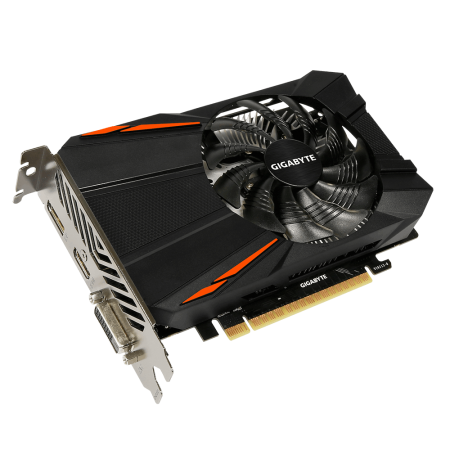 Placa de Vídeo GeForce GTX 1050 2GB DDR5 - Gigabyte  - foto principal 1