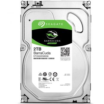 HD Interno 3,5'' BarraCuda 2TB SATA 6GB 7200RPM - Seagate