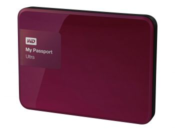 HD Externo My Passport Ultra 1TB USB 3.0  Wild Berry  - WD
