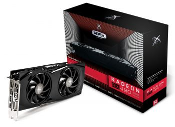 Placa de Vìdeo Radeon RX 480 GTR 8GB DDR5 - XFX