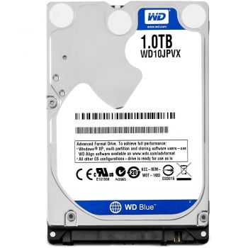 HD Interno Notebook 1TB 8MB SATA 3 5400RPM - WD