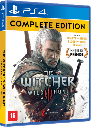 The Witcher Wild Hunt: Complete Edition - PS4