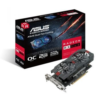 Placa de Vídeo Radeon RX 560 OC 2GB DDR5 - ASUS