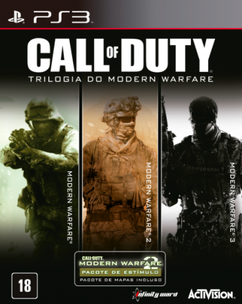 Call of Duty Trilogia do Modern Warfare - PS3