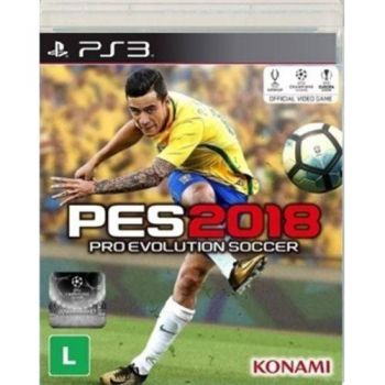 Pro Evolution Soccert 2018 (PES 2018) - PS3