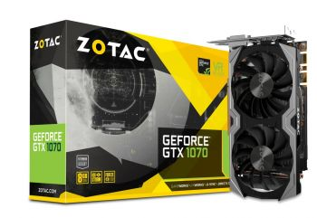 Placa de vídeo GeForce GTX 1070  8GB DDR5 - Zotac