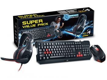 Kit Teclado + Mouse + Headset KMH-200 - GX Gaming