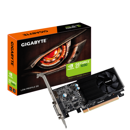 Placa de Video GeForce GT 1030 LOW PROFILE 2GB DDR5 - Gigabyte  - foto principal 1