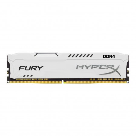 Memória RAM Desktop HYPERX FURY 8GB DDR4 2400MHz CL15 DIMM Branco - Kingston  - foto principal 1