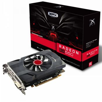Placa de Vìdeo Radeon RX 550 2GB Core DP DDR5 - XFX